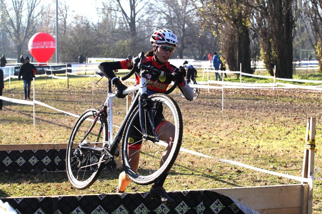 Sylvie Truc quarta al ciclocross di Cremona